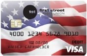 010 Flag debit card