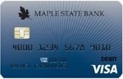 069 Navy Burst debit card