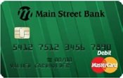 202 Emerald Green debit card